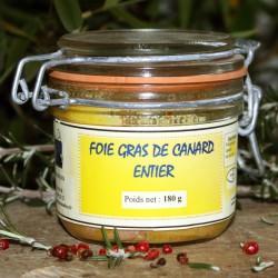Foie Gras de canard entier 180 g