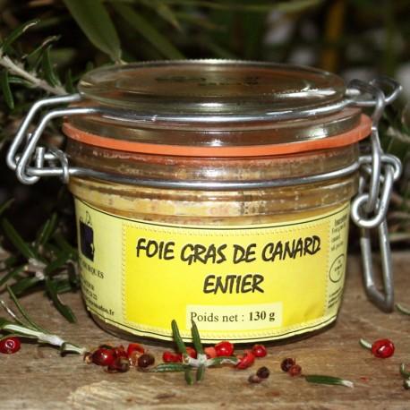 Foie Gras de canard entier 130 g