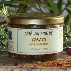 Pâté au foie de canard 180 g
