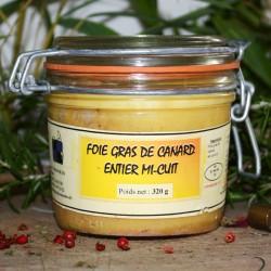 Foie gras de canard mi cuit 320 g