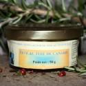 Pâté au foie de Canard - 20% Foie Gras 50 g