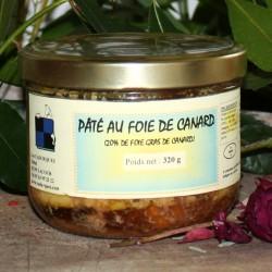 Pâté de foie de Canard - 20% Foie Gras 320 g