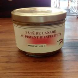Pâté de Canard au piment d'espelette 180 g